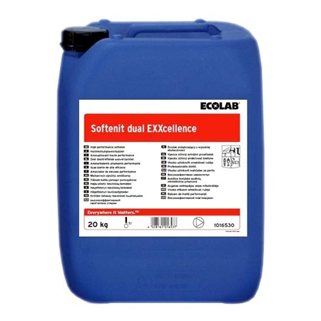Ecolab Softenit dual EXXcellence канистра 20 кг